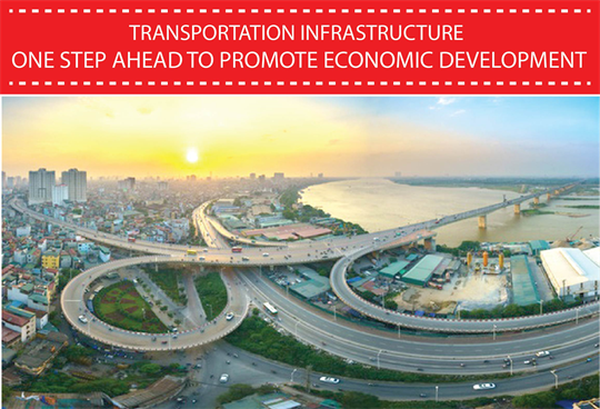 Transportation infrastructure - one step ahead to promote economic development