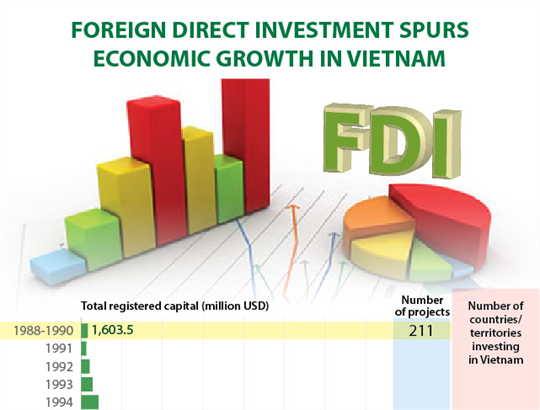 Foreign direct investment spurs economic growth in Vietnam