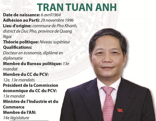 Tran Tuan Anh: président de la Commission économique du CC du PCV