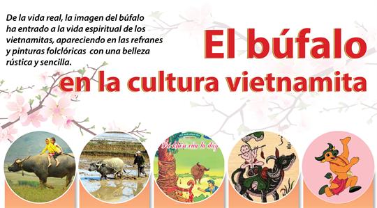 El búfalo en la cultura vietnamita