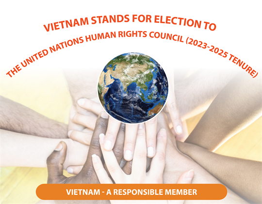 Vietnam stands for election to UN Human Rights Council