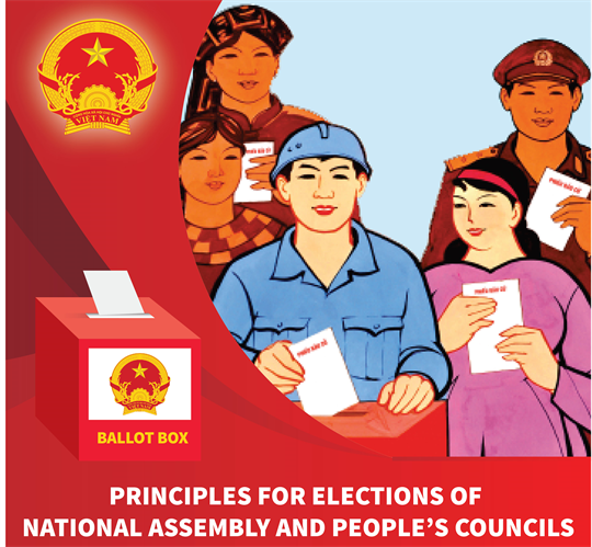 Principles for elections of deputies to National Assembly and People's Councils