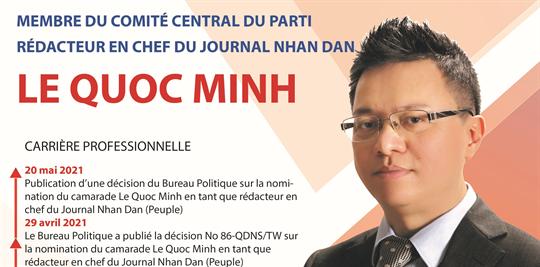 Nouveau rédacteur en chef du Journal Nhan Dan