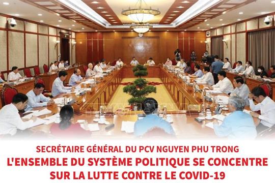 L'ensemble du système politique se concentre sur la lutte contre le COVID-19