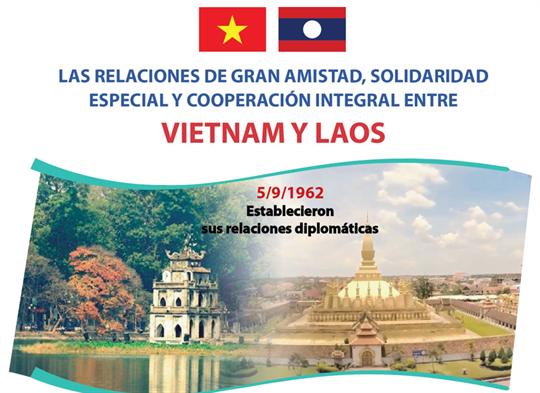 Relaciones de gran amistad, solidaridad especial y cooperación integral entre Vietnam y Laos