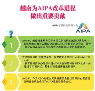 越南为AIPA改革进程做出重要贡献