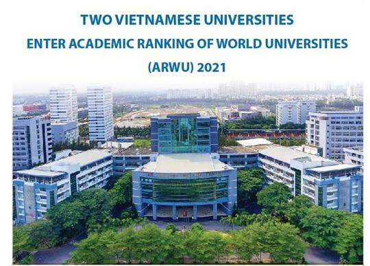 Two Vietnamese universities enter academic ranking of world universities 2021
