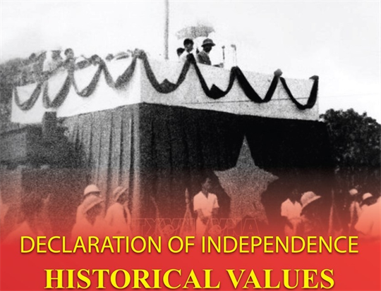 Historical values of Declaration of Independence