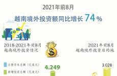 2021年前8月越南境外投资额同比增长74%